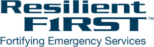 ResilientFirst Logo, resilience, Fortifying Emergency Services